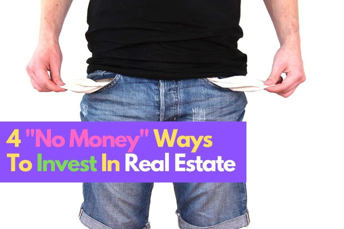 No Money Real Estate Investing