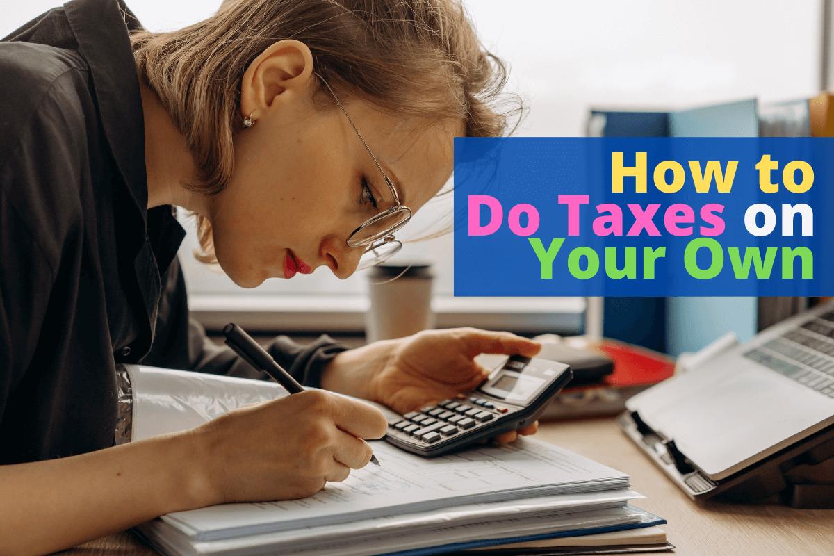 how to do taxes