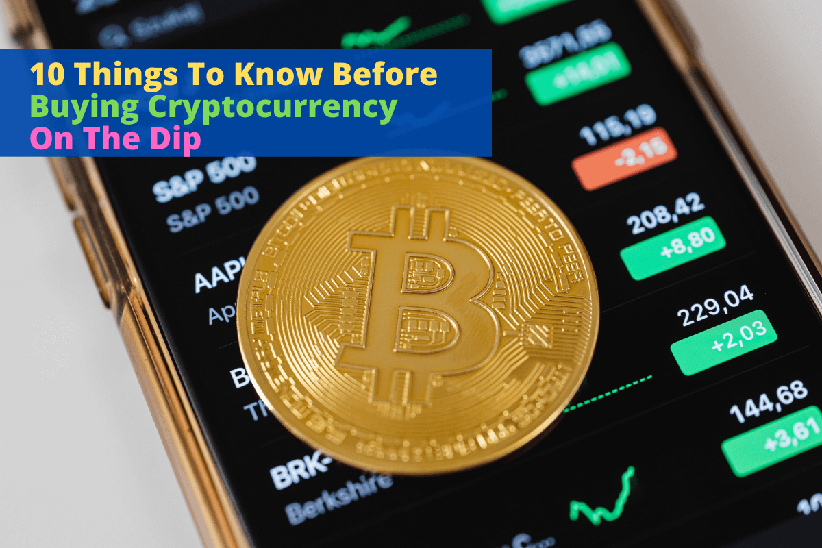 cryptocurrency on the dip