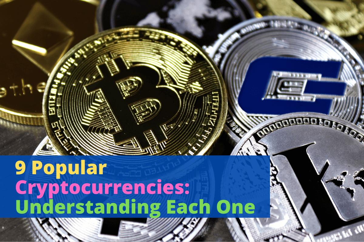 popular cryptocurrencies