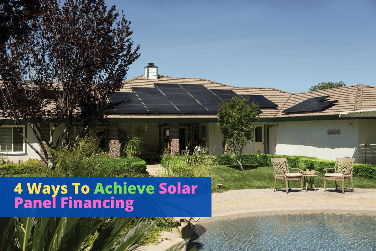 solar panel financing